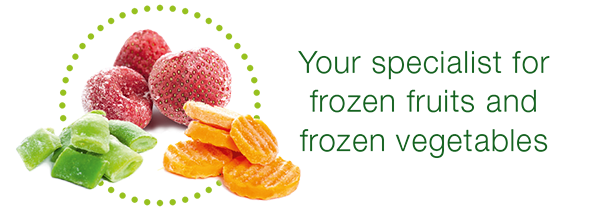 Your specialist for frozen fruits and frozen vegetables